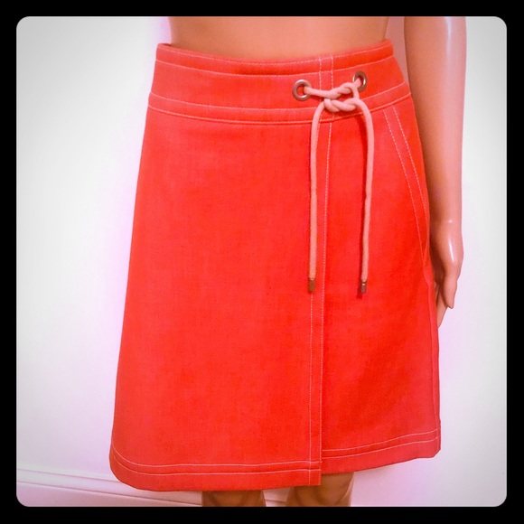 Ann Taylor Dresses & Skirts - Ann Taylor orange skirt NWOT